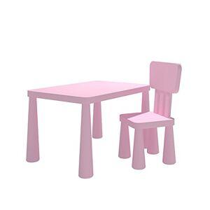 Teng Peng Silla para niños Mesa y sillas para niños de jardín de Infantes para niños Mesa y sillas para niños Mesa y sillas para niños Silla de Comedor para niños (Color : C)