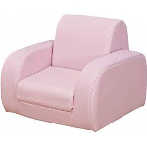 LIXBD Xiang Furniture Stool Sencillo y Confortable Asiento Infantil y Silla Moderna Sillón de Dibujos Animados Lindo Color Hermoso cómodo y Ligero for no extraíble Lavable (Color : Pink)