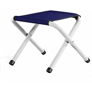 WYJW Taburetes Plegables al Aire Libre Silla Plegable portátil de Tela Oxford para Acampar Picnic Senderismo Pesca y Viajes (Color: Azul Marino 24 * 27 * 31 cm)