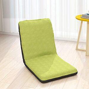 YQQ -sofá Perezoso Floor Gaming Chair Piso Plegable Gaming Lounge Sofá Silla 5 Posiciones Ajustable Sofá De Piso for Dormitorio Sala Los 40x40x40cm (Color : D)
