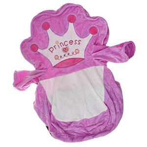 Homyl Caso de Sofá Bolsa de frijoles para Niños Cubierta de Sillón Bebé Funda de Silla Adorable Diseño de Animal # 1 Púrpura