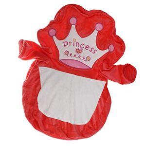 Homyl Caso de Sofá Bolsa de frijoles para Niños Cubierta de Sillón Bebé Funda de Silla Adorable Diseño de Animal # 1 rojo