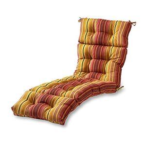 Greendale Home Fashions Kinnabari Stripe Cojín de 183 cm para Tumbona