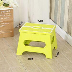 SX-ZZJ Taburete súper Plegable El Taburete Plegable Ligero es lo Suficientemente Fuerte como para soportar la Seguridad de Adultos y niños Taburete de Zapatos para el hogar (Color : C)
