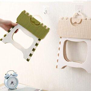 Leruya Taburete Plegable Plegable de plástico portátil pequeño Taburete Silla Banco para niños niños Adultos al Aire Libre baño Viajes