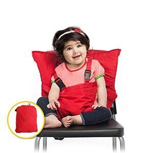 C'estBella Portátil de Fácil Asiento para Bebés Silla Portátil de Viaje Silla Alta Ajustable Desmontable Arnés de Seguridad Infantil Fundas para Tronas Bolsa para Silla de Comedor para Bebé Arnés de Asiento de Seguridad para la Alimentación del Bebé C