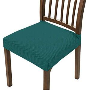 DUANWY Chair Cover Cubiertas de Asiento de Silla Jacquard extraíbles Lavables Anti-Polvo Estiramiento Spandex Comedor Silla tapizado Asiento Asiento de Asiento Casual
