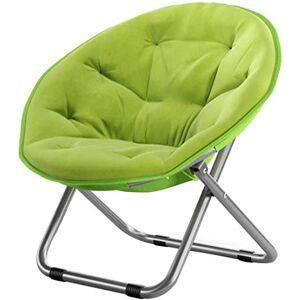 N/W Silla de Luna Grande para el hogar al Aire Libre para Adultos/Silla de Sol/Silla reclinable/Silla/Plegable/Silla Redonda/Silla