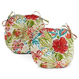 Greendale Home Fashions AZ5816S2-BREEZE Cojín para Asiento de Bistro (38,1 cm), diseño Floral