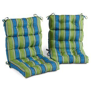Greendale Home Fashions AZ6809S2-CAYMAN Belize Cojín para Silla de Respaldo Alto (2 Unidades)