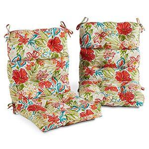 Greendale Home Fashions AZ6809S2-BREEZE Cojín para Silla de jardín (2 Unidades)
