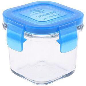 WEAN GREEN Wean Cubes Fiambreras de Vidrio, 1 Unidad, Azul (Arándano), 1