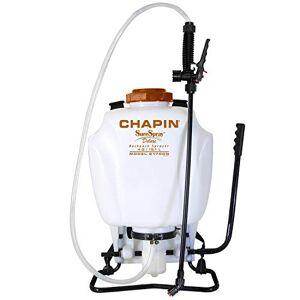 Chapin International Chapin 61700N Mochila con pulverizador de 4 galones para Fertilizantes, herbicidas y plaguicidas