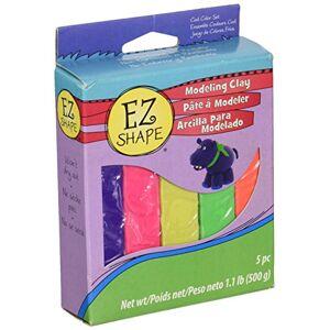 Sculpey NDC53 EZ Shape Clay 5 Piece, Bright Color Set
