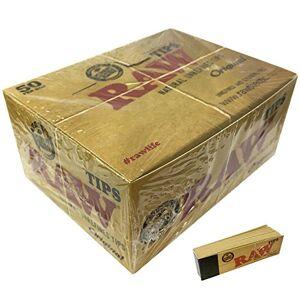 RAW Puntas de papel natural (50 unidades), color café