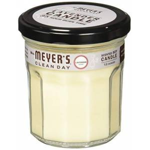 MRS. MEYER'S Mrs. Meyers Clean Day mrm-64558p2Mrs. Meyers Clean Day-Vela de soja con aroma & # 44; Lavanda & # 44; 7,2oz & # 44; 2Pack