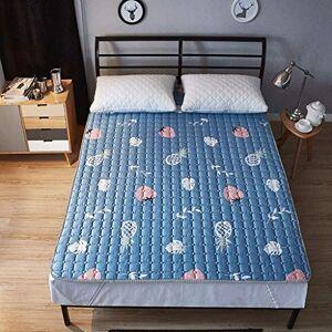 WZF Colchón Antideslizante de algodón Hogar Individual Tatami Doble para niños (Color: 6 Tamaño: 150X200 cm)