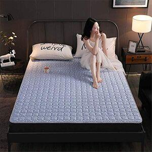 GJP Espesar Almohadilla de colchón Suave Antideslizante Protector Transpirable Colchón Dormitorio Dormitorio Colchones de futón de Piso japonés Cómodo Tatami Acolchado Esteras de cojín Plegables