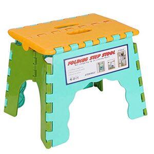 Asixx Taburete Plegable del Paso, Taburete Plegable portátil de 22 * 16.5 * 19cm para el Dormitorio, Escuela, acampando(#4)