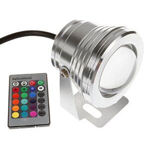 Lemonbest® Lemonbest New LED Underwater Spot Light Ip67 Water-resistant 10w 12v RGB Color Changing Light with remote
