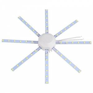 Zyyini Led Panel Ceiling Light Fixtures Round Replacement Board Bulb, Board Modified Source LED Bulb Light (24W)