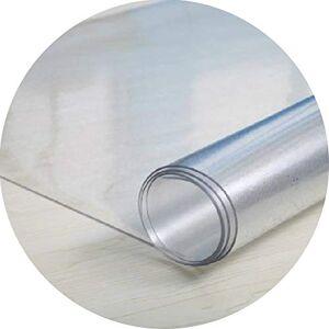 WMMING Tabla protector de la cubierta protectora impermeable de PVC Tabla estera del cojín transparente for mesa de café, mesa de comedor Habitación, escritorio de oficina, soporte final de la noche L