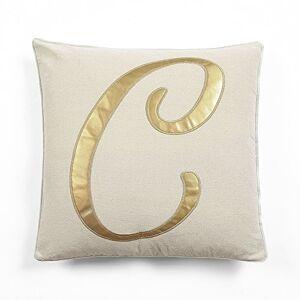 Lush Decor Amanda C Almohada Decorativa de Thow, C, Dorado, 60.3 cm (Alto) x 1.4 m (Ancho) x 5 cm, 1