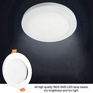 riuty Luz de Techo LED, Sensor LED Sensor de Movimiento del Cuerpo Humano PIR Panel Empotrado en el Techo Luz descendente AC85-265V 5 / 7W(5W)