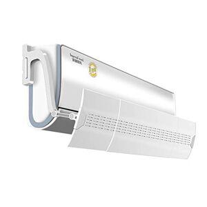 Yingpai-Air Conditioner Deflector Aire Acondicionado Deflector De Viento TelescóPico Refuerce El Material De PP, Instale Directamente Sin Perforar Aire Salida Bafle Deflector De Aire Acondicionado Montado En La Pared (TamañO: 74~1