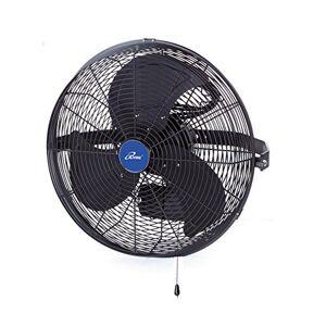 "iLIVING ILG8E14-15 Wall Mount Outdoor Misting Fan, 14"", Black"