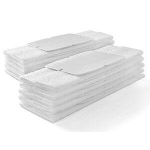 iRobot Braava Jet Dry Almohadillas de Barrido (10 Unidades), Color Blanco