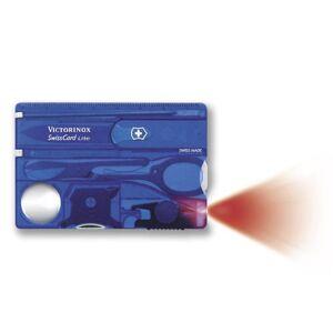 Victorinox SwissCard Lite Blue Transparent