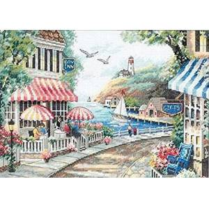 Dimensions Needlecrafts Counted Cross Stitch, Cafe by The Sea