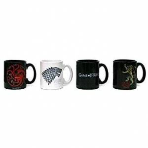 SD toys Set 4 Mugs Expresso Game of Thrones 8436541029163
