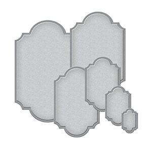 Spellbinders S5-127 Plantillas para Etiquetas (6 Unidades)