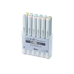 Copic Marker s12ex-4de Dibujo de 12Piezas, EX-4
