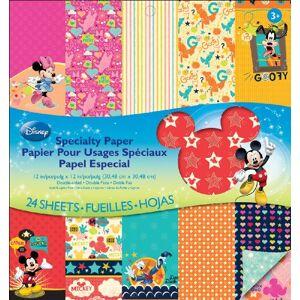 EK Success Disney Specialty Mickey Family Bloc de Papel