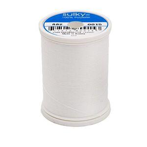 Sulky Bobbin Thread for Sewing, 1100-Yard, White
