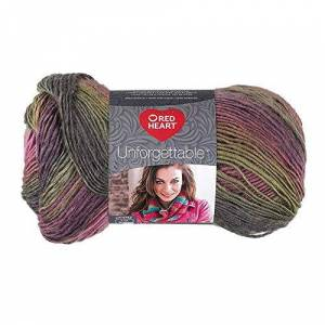 Coats & Clark Red Heart E793.3940 Boutique Unforgettable Yarn, Echo