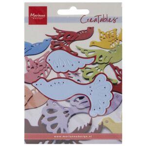 Ecstasy Crafts Marianne Design Creatables Troquel, 3.5 por 2 pulgadas, Fantasy Bird