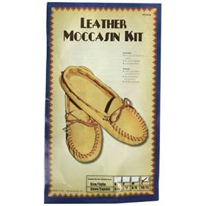Realeather Crafts Leather Kit, 10/11-Size, Scout Moccasin