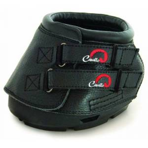 Cavallo Simple Hoof Boot for Horses, Size 0, Black