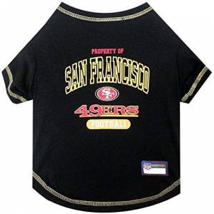 Pets First NFL San Francisco 49ers tee Shirt, Medium