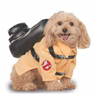 Rubie's Rubies Costume Ghostbusters Movie Collection Pet Costume, Large, Ghostbuster Jumpsuit