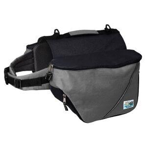 Doggles Dog Backpack, Medium, Gray/Black