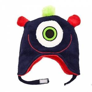 Luvali Winter Kids Converible Hat Winter Monsters Large