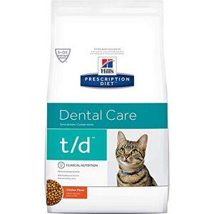 Science Diet Hills Diet t/d Feline Dental Health Cat Food 4lb Bag