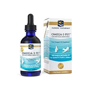 Nordic Naturals Omega-3 Pet Cats & Small Dog Breeds nutrients, 2 oz