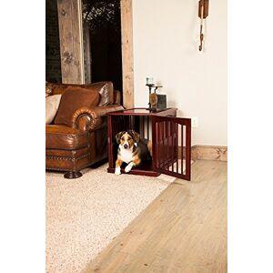 Primetime Petz End Table Kennel, Medium, Walnut