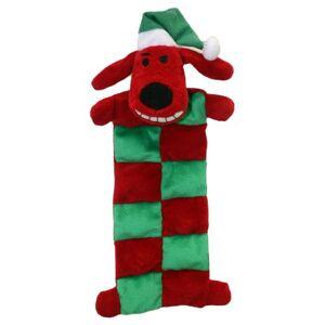 Multi Pet Multipet Loofa Alfombrilla para Perro con Sombrero de Papá Noel, 30,5 cm